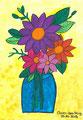 Blumenstrauß nach Gabriele Münster, Clara-Lea Klug, Klasse 9