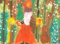 Der Nikolaus kommt, Laura Petersen, Klasse 1