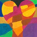 Heart nach Jim Dine, Iqra Mahmud, Klasse 7
