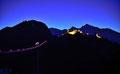 Beleuchtete Highline, Schlosskopf und Ehrenberg