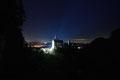 Neuschwanstein in der Nacht von der Marienbrücke
