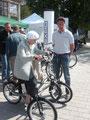 e-Trike Helkama Probefahrt
