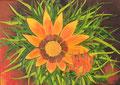 ©  Blüte in der Provence   Ölbild auf Leinwand