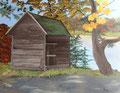 © Mein Herthasee   Acryl   80x100cm     1.800€