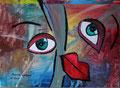 """© """"DUHU""""   Acrylbild    500€"""
