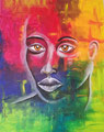 © Inspirationen aus Süd-Afrka   Acrylbild    100x80cm   1.000€