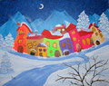 © Wenn der Winter kommt   80x100cm     900€