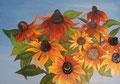 ©  Herbstblüten   50x70cm Öl auf Leinwand   600€