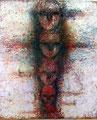 『 連 』  F100号(1,620×1,303㎜) パネル、顔料、他 第6回はるひ絵画トリエンナーレ 入選