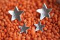 Sterne, Ø: 1,5 cm und 1 cm