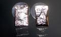 Retikulierte Silber-Ohrstecker, leider verkauft