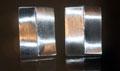 Gegenläufige Silberwellen