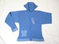 Modell. SP215 - Jacke mit Stehkragen & Reissverschluss, talliert
