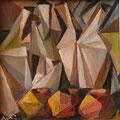 Natura morta, 1998.   Olio su tavola,   cm. 20x 20