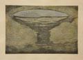 海の死|2009|水性木版|30.2cm×45.1cm