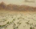 母なる大地|2010|油彩、キャンバス|65.2cm×53cm