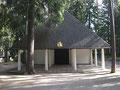 北欧建築の旅10 スウェーデン 森の墓地 森の礼拝堂 復活の礼拝堂