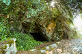 The present entrance to the Anthropograva cave.