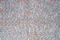 Wände, beschrieben mit Namen von Kriegsopfer.