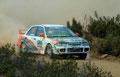 Nuno Pinto / Ricardo Barreto - Mitsubishi Lancer EVO III