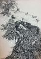 A nest Ⅲ 72.8×51.5cm 2016