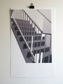 uit de reeks; Trappenhuis. 50x32cm