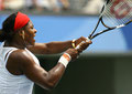 2008 Serena Williams at Beijing Olympic Green Tennis Court