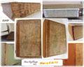 Buchreparatur - Buchrücken ersetzt - Vorsätze erneuert - Cover gereinigt