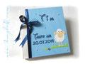 Foto-Gästebuch zur Taufe mit individuell bedruckten Innenseiten