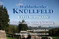 """Visitenkarte """"Waldschenke Knüllfeld"""" - Beidseitig 4-farbig bedruckt"""