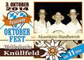 Veranstaltungsplakat Oktoberfest