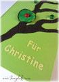 """Diese Buchanfertigung ist ein Erinnerungsgeschenk von angehenden Schulkindern an Ihre Kindergärtnerin Christine. VIELEN DANK an meine """"heimlichen Auftraggeber"""" ;)"""
