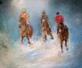 « Vivolta » : Peinture à l'huile 2013 - format 55x46 cm – 265 €