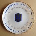 Jubileum bord BB A kring Zuidholland a