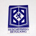 promotie sticker BB blauw