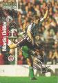 Trading Card 175 mit Originalunterschrift: Martin Driller; Bundesliga Collection 97 (Die Cards-Kollektion zur Rückrunde der Saison 97); Panini Bilderdienst, Nettetal, Kaldenkirchen