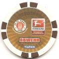 Chipz ohne Nummer: Rückseite Abwehr; Bundesliga Chipz 2010/2011; Topps