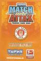 Variante Rückseite einer Trading Card dieser Serie: Variante Mittelfeld; Match Attax Traiding Card Game 2010/2011; Topps