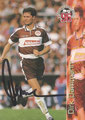 Trading Card 132 mit Orginalunterschrift: Dirk Damman; Bundesliga Cards '96 ran Sat 1 Fußball; Panini Bilderdienst, Nettetal, Kaldenkirchen