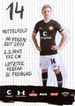 Mats Møller Dæhli; Rückseite Autogrammkarte: Saison 2019/20 (2. Bundesliga)