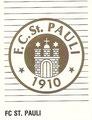 Sticker 376: FC St. Pauli Wappen; Panini Fußball' 93 Das Super Sammelalbum zur Rückrunde; Panini Bilderdienst, Unterschleißheim