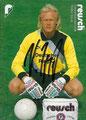 Variante 2: Webekarte: Volker Ippig; Saison: 1988/89; Anmerkung: Werbung für: reusch, Torwarthandschuhe