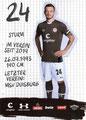 Bobris Tashchy;  Rückseite Autogrammkarte: Saison 2019/20 (2. Bundesliga)