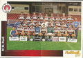 Sticker 433: Mannschaftsbild (links), Sticker 434: Mannschaftsbild (rechts); Fußball' 96; Panini Bilderdienst, Unterschleißheim