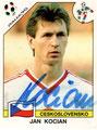 Sticker 83 mit Orginalunterschrift: Italia '90 (World Cup); Panini Bilderdienst, Unterschleißheim