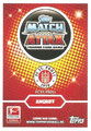 Trading Card 595: Rückseite Trading Card; Topps Match Attax Extra 2016/2017; Topps