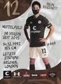 Ryō Miyaichi; Rückseite Autogrammkarte: Saison 2020/21 (2. Bundesliga)