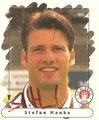 Sticker 163 mit Orginalunterschrift: Panini Junior Sticker (Die Endphase der Saison 95/96); Panini Bilderdienst, Nettetal, Kaldenkirchen