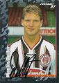 Sticker 388 mit Orginalunterschrift: Fußball' 97; Panini Bilderdienst, Nettetal, Kaldenkirchen