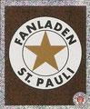 Sticker 155: Fanladen; Fanladen St. Pauli; St. Pauli Sammeln! Panini Bilderdienst, Stuttgart